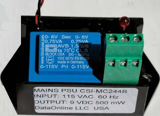 DPA960 (115 VAC) MAINS POWER SUPPLY MODULE - L+H Automation